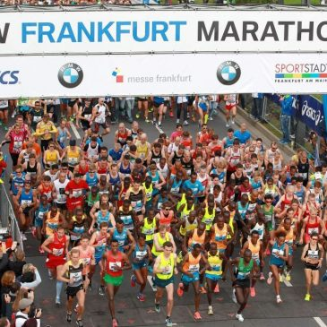 THE MAINOVA FRANKFURT MARATHON – SUNDAY 27TH OCTOBER 2019