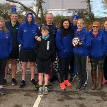 THE ARTHUR JAMES RELAYS – SUNDAY 10TH NOVEMBER 2019