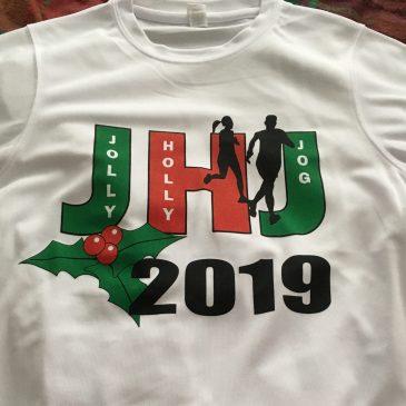 THE JOLLY HOLLY JOG – SUNDAY 29TH DECEMBER 2019