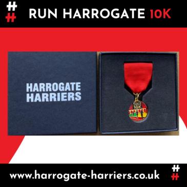 RUN HARROGATE 10K – SUNDAY 4TH JULY 2021