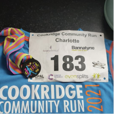 COOKRIDGE COMMUNITY 10K RUN – SUNDAY 11TH JULY 2021