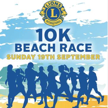 FILEY LIONS 10K BEACH RACE – SUNDAY 19TH SEPTEMBER 2021